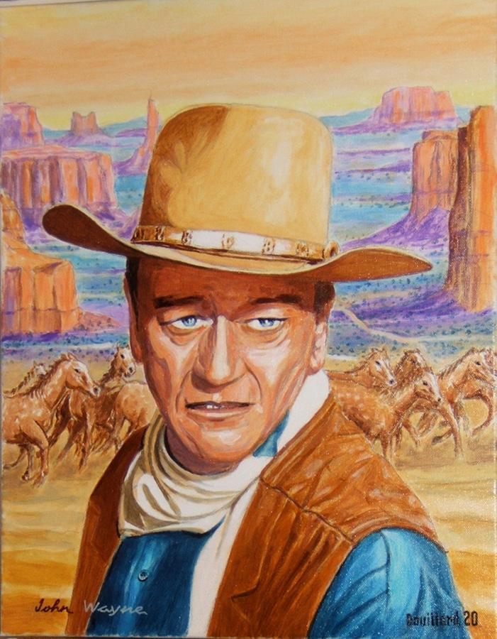 John Wayne por Douillard